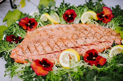 Salmon Menu Item